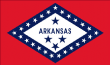 ARKANSAS - 5 X 3 FLAG